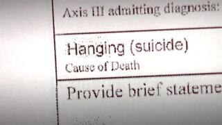 Hanging suicide