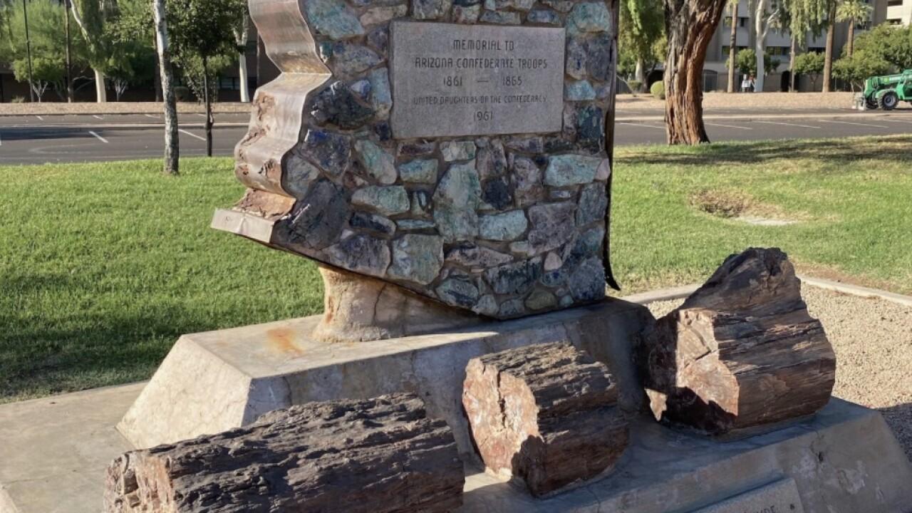 Arizona Confederate Monument - Wesley Bolin Plaza
