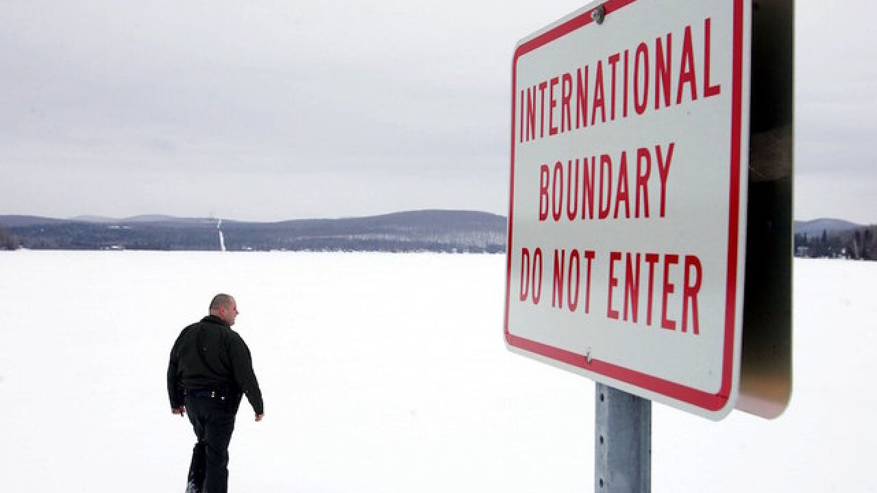 Jogger claims she accidentally crossed US/Canada border, jailed for two weeks