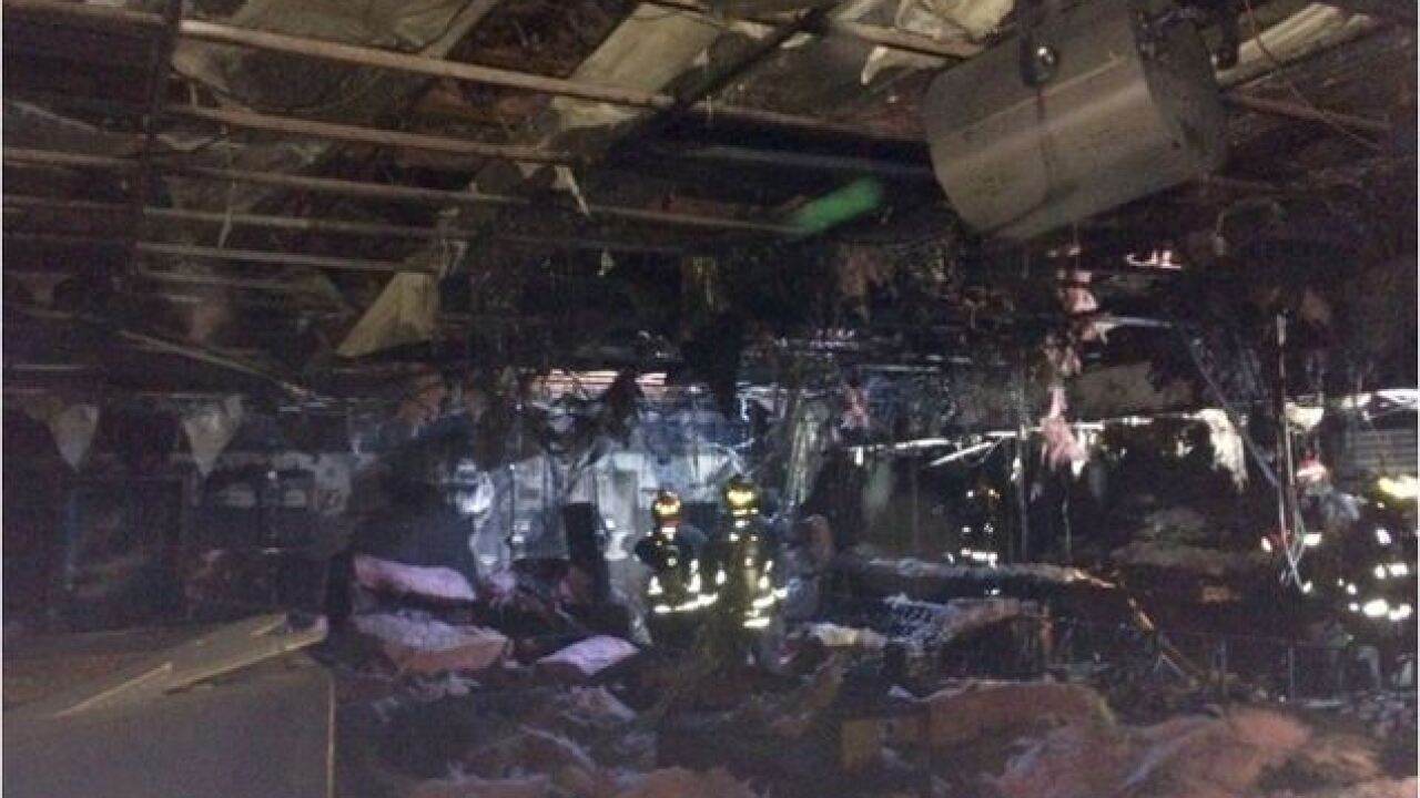 Fire causes extensive damage to hookah bar