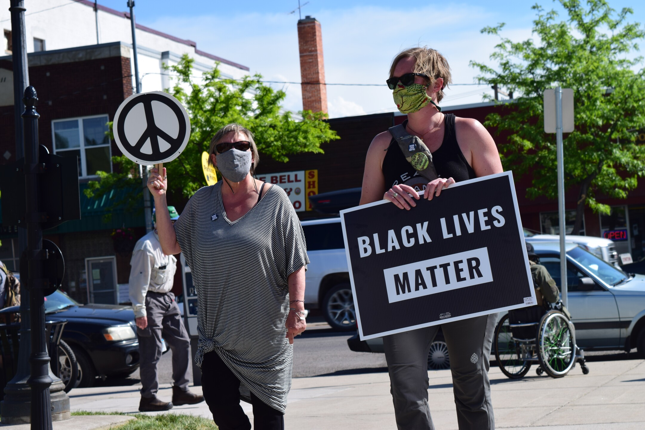 Missoula Black Lives Matter protest day eight