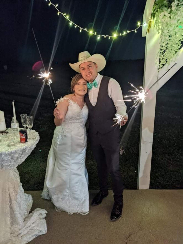 Lesly and Jerry Sanchez celebrate wedding