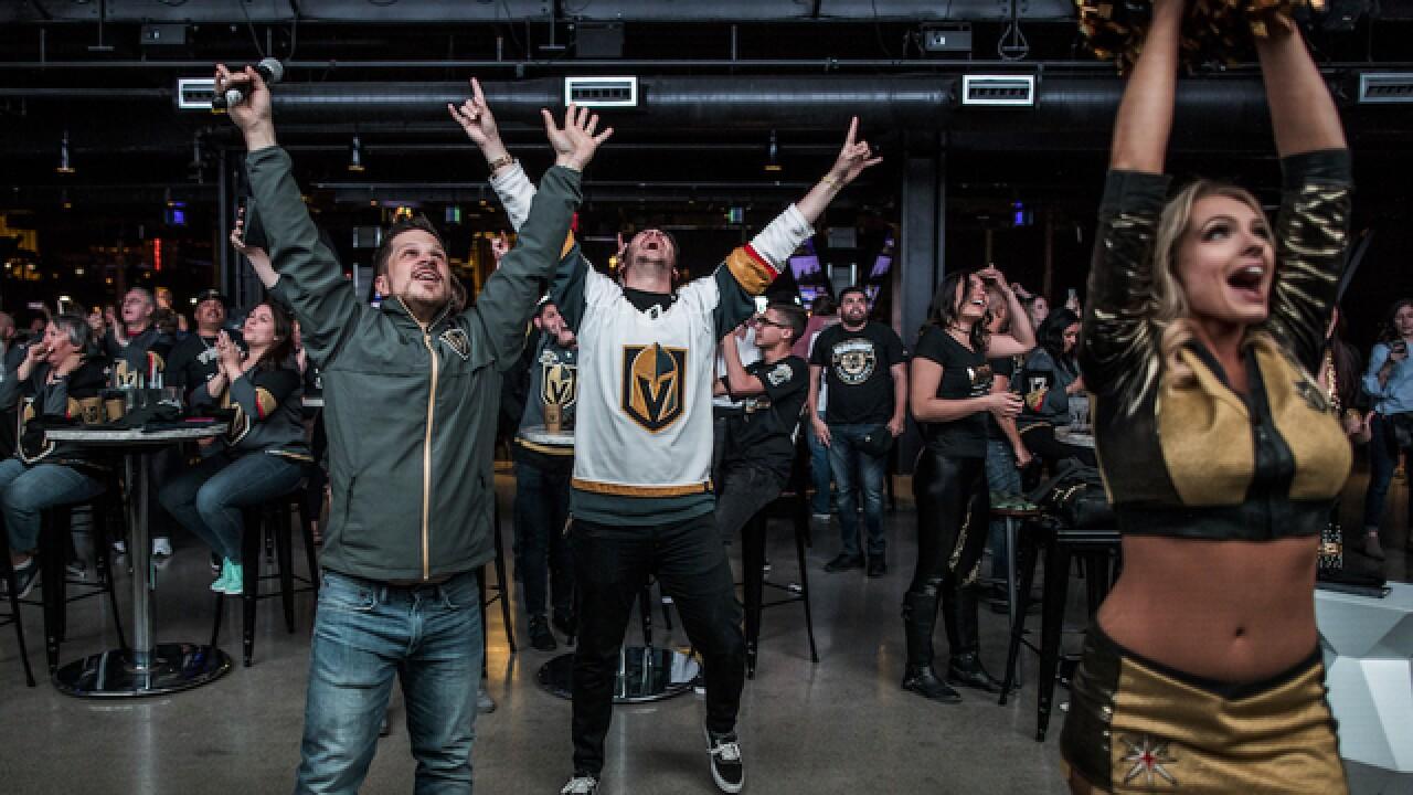 Knights take 3-0 series lead over LA Kings