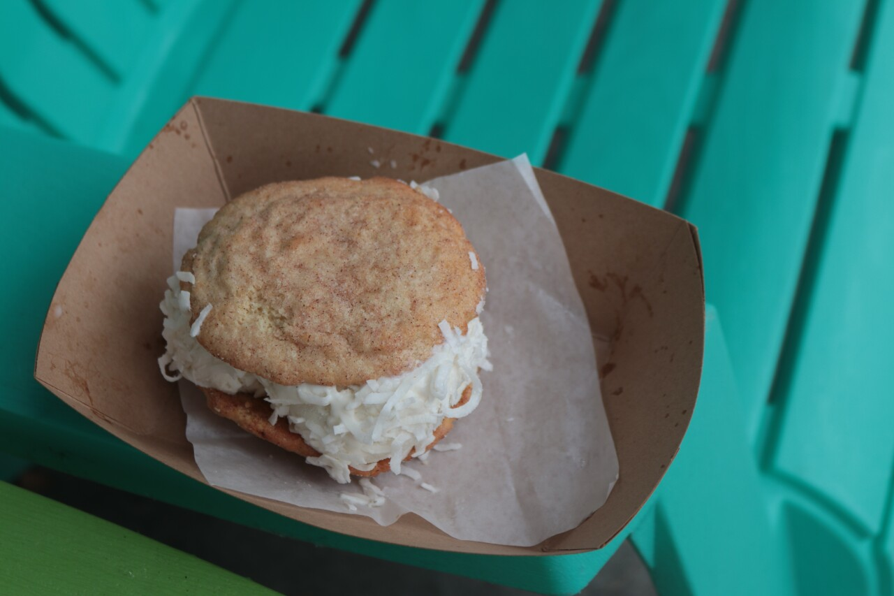 Holiday in the Sun Ice Cream Sandwich from Sweet Stack Shack.JPG