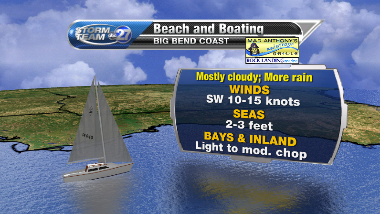 Beach and Boating forecast (08/04/2017) A