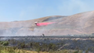 UPDATE: Fire east of Santa Maria burns 48 acres