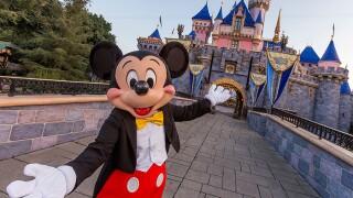 Disneyland Mickey Mouse