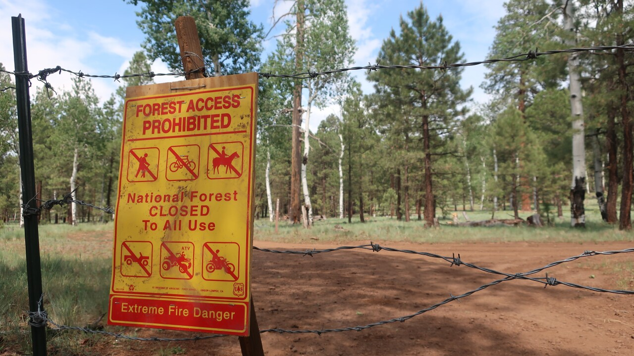 Wildfires-Forest Closures