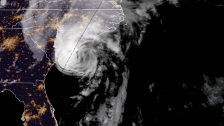 Isaias strengthens into a hurricane, pounds the Carolinas
