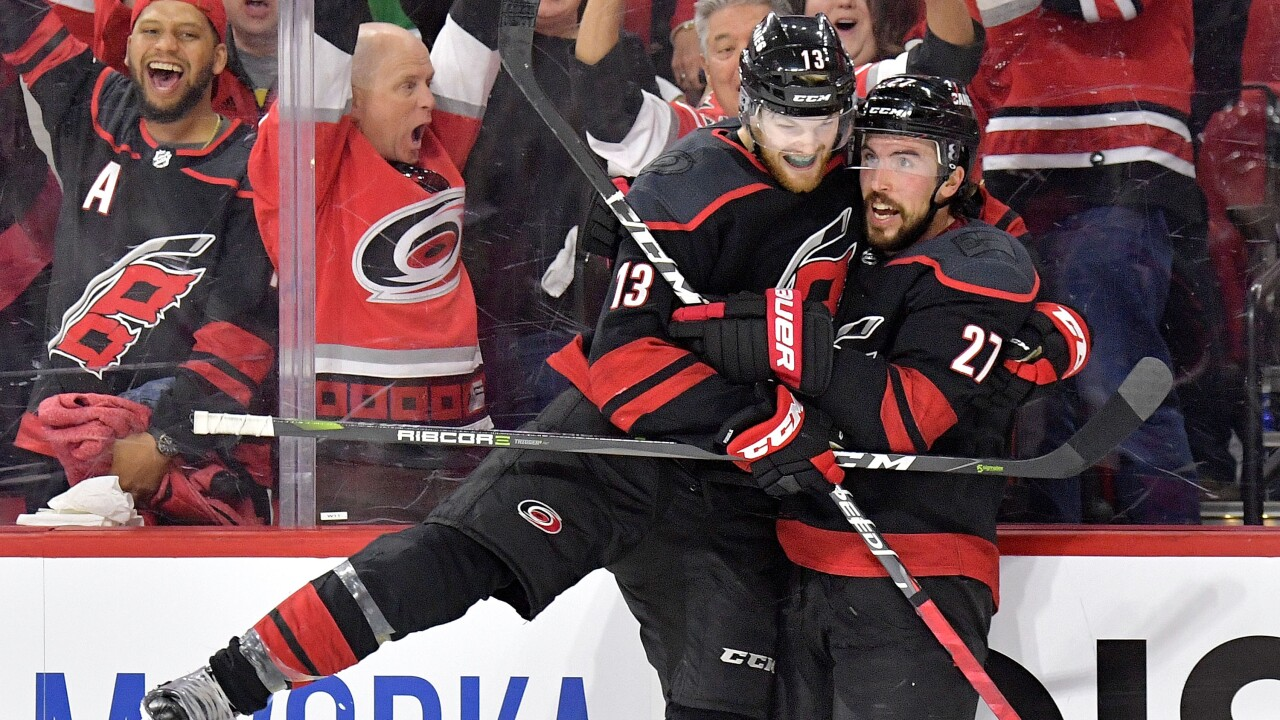 Carolina climbs to within one win of NHL Eastern Conference final