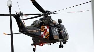 Injured horseback rider rescued by MSP chopper