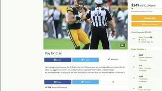 Green Bay Packers' fans donate to GoFundMe page after Clay Matthews get another penalty