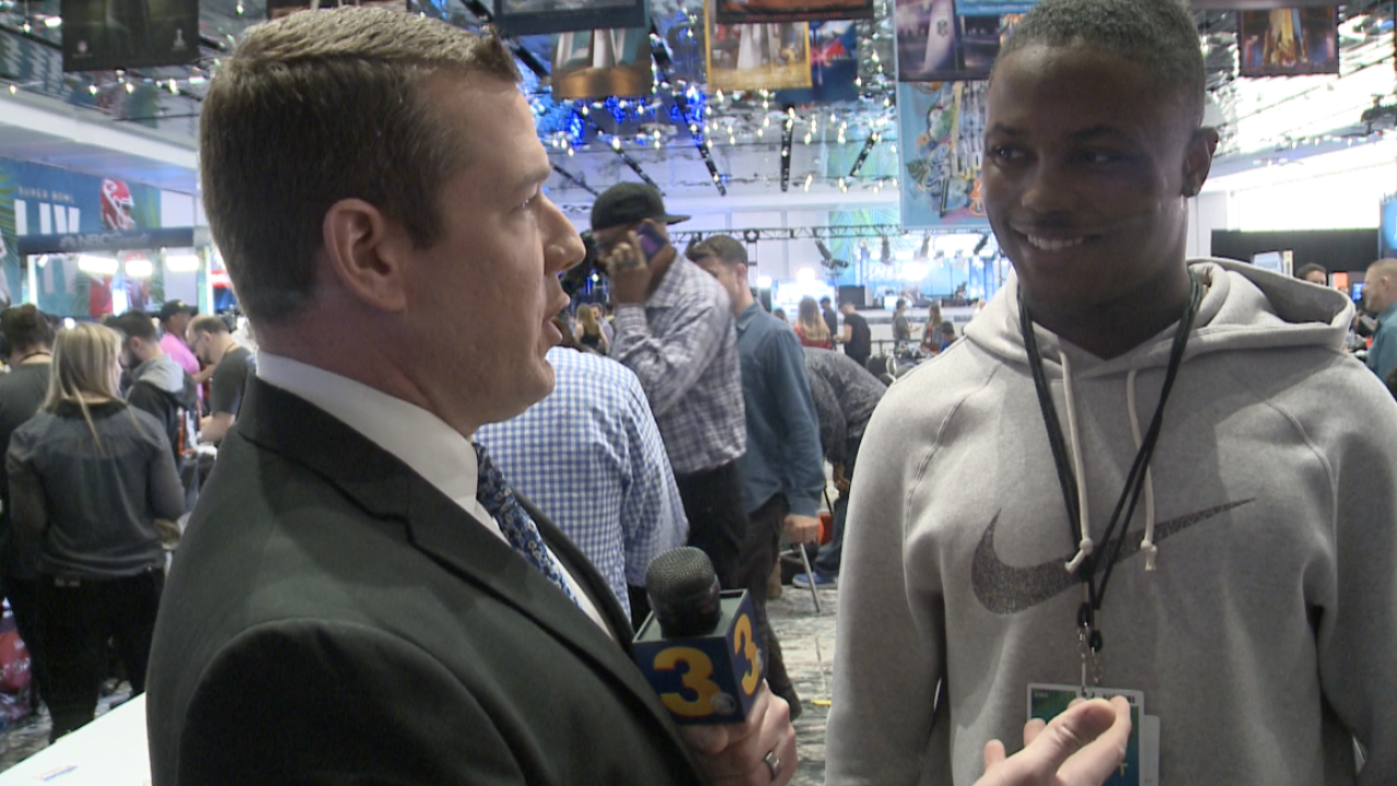 'Skins scoop: Wink chats 1-on-1 with Redskins receiver Terry McLaurin at Super BowlLIV