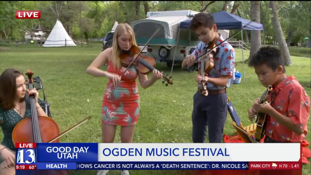 'Jubilee' performs at Ogden Music Festival