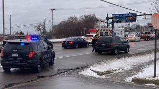 Pedestrian hit by car in Wyoming