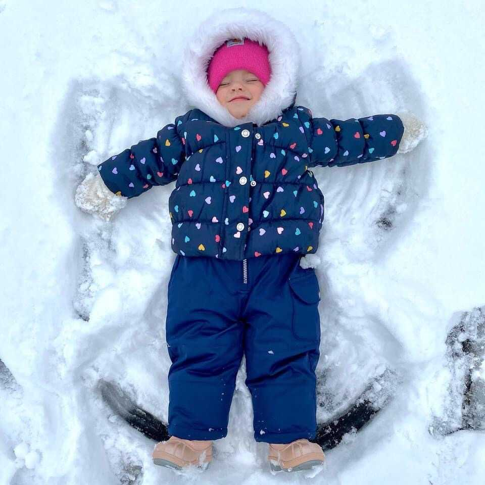 2-year-old Emilia Brown from Norwood