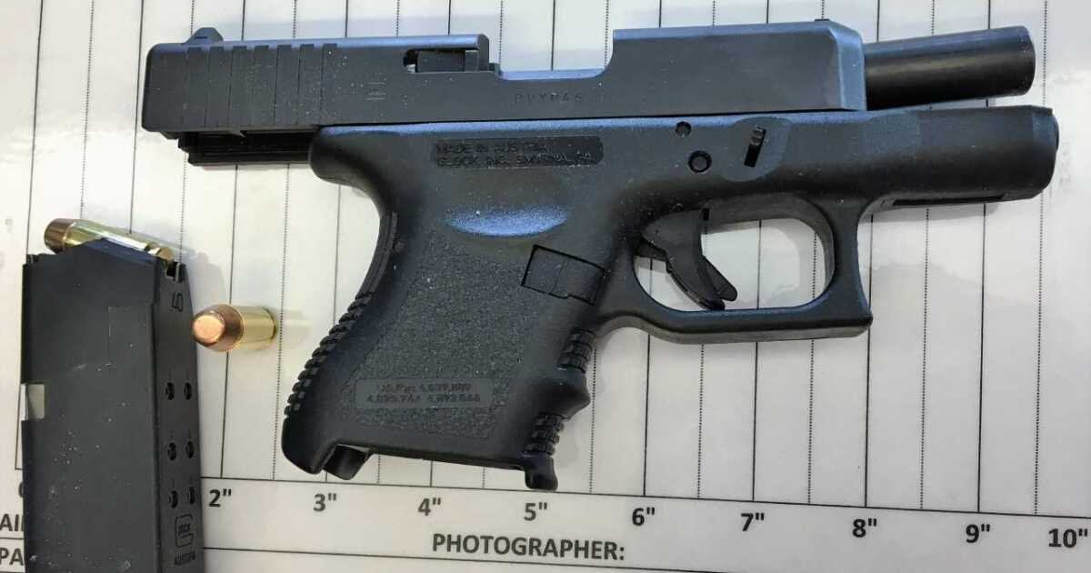 Woman caught with loaded gun in carry-on bag at BWI Airport