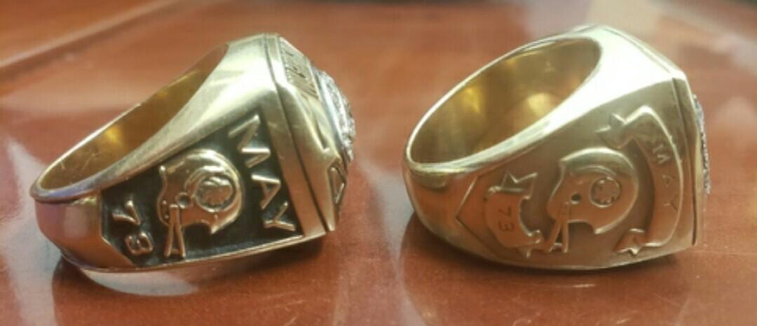 Mark May Super Bowl ring