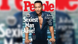 John Legend named PEOPLE's 'Sexiest Man Alive'... and he's perplexed