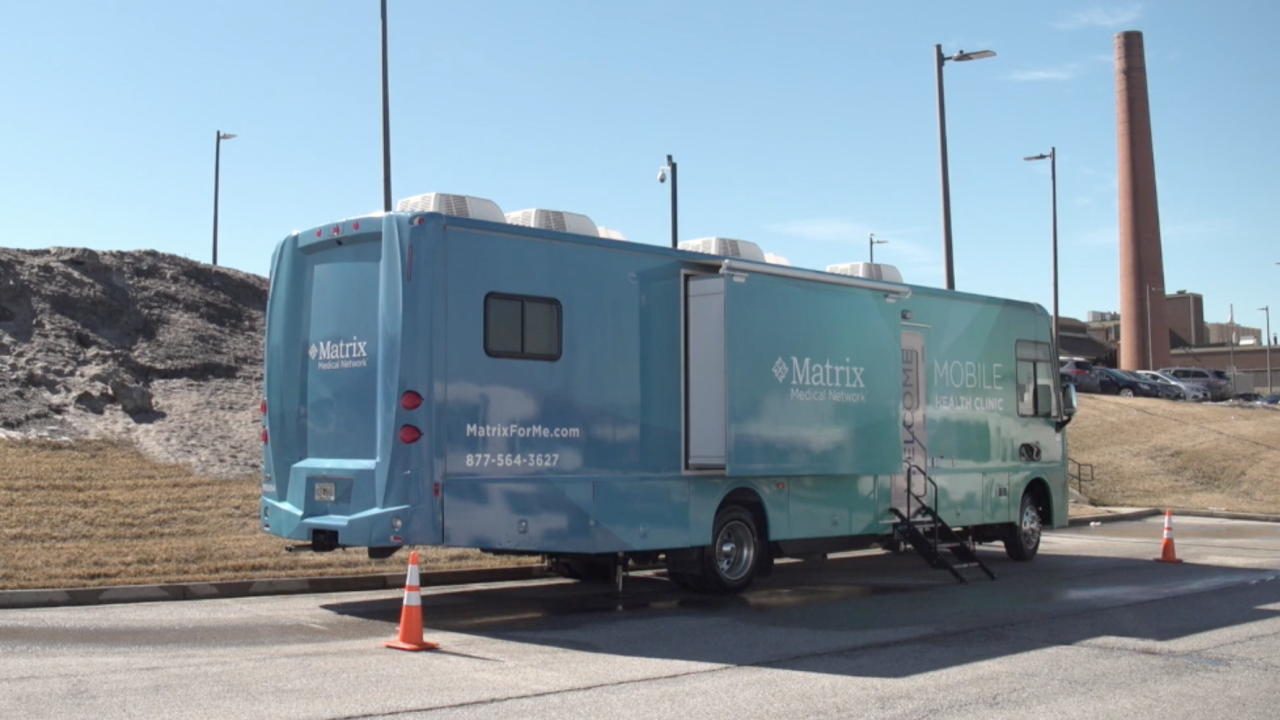 Matrix Medical Network is using mobile clinics to conduct a national clinical trial for a new COVID-19 vaccine. The idea is that mobile clinical trials help reach a more diverse population than traditional clinical trials, often held at a standing medical facility that not as many people might be able to reach.
