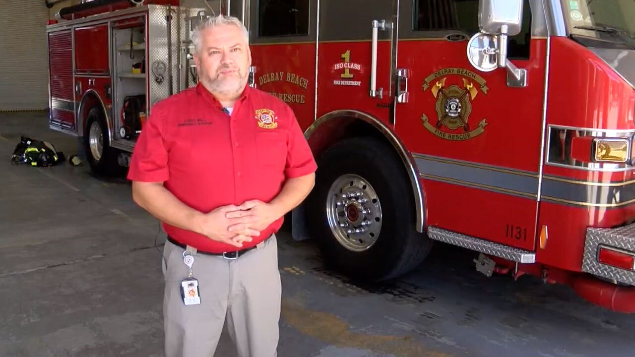 Chris Bell, Delray Beach Fire Rescue emergency manager