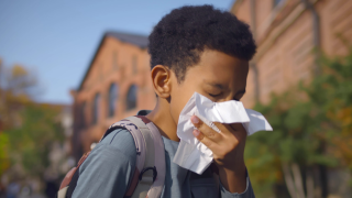 child sneezing generic