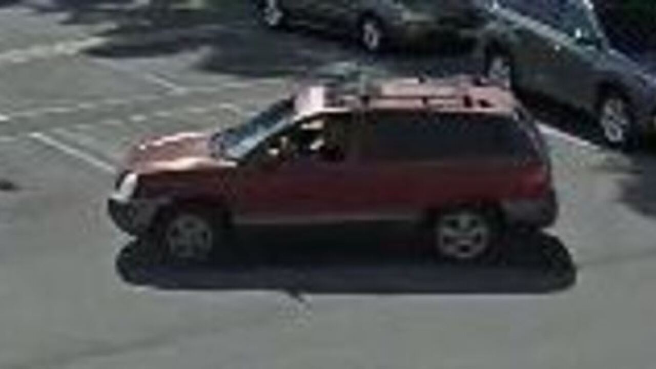 BPD searching for vehicle burglary suspect