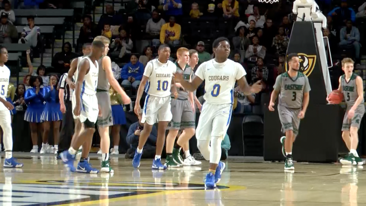 Crown the Cougars: Surry County boys basketball wins first VHSL state title since 2005, girls fall short in title game