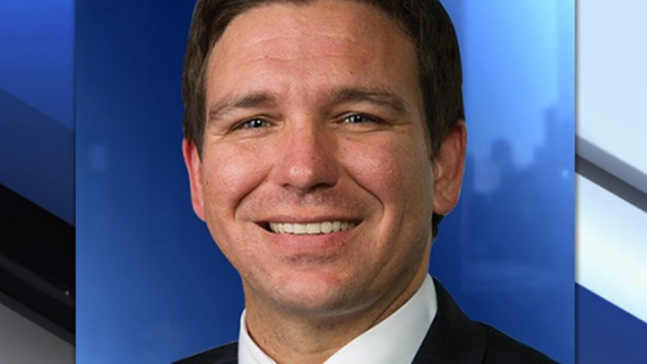 Incoming Florida Gov DeSantis to be sworn in Tuesday