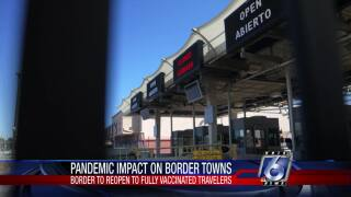 U.S. border will open to fully vaccinated travelers on Nov. 8