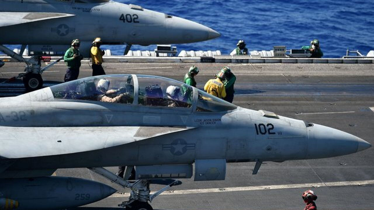 Marine Corps planes crash off coast of Japan