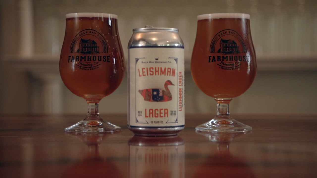 Pro golfer Marc Leishman and family host Leishman Lager launch party in Virginia Beach