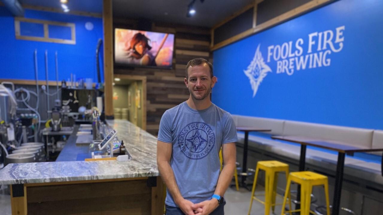 Jon Nash at Fools Fire Brewing Company
