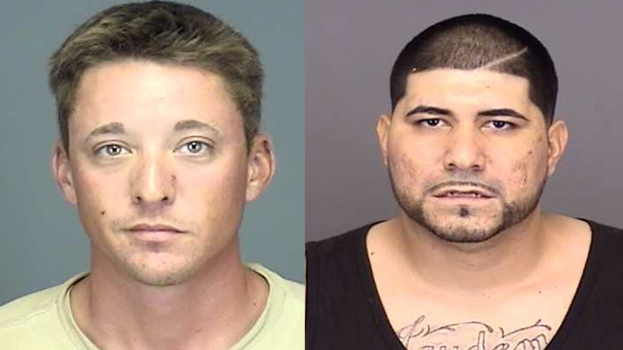 Suspects arrested after dealing drugs in front of detective