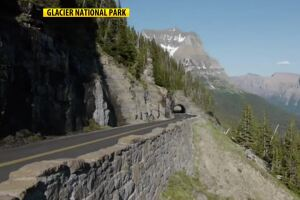 Teen dies after vehicle hit by rockfall in Glacier National Park