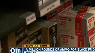 Poway gun store races to sell 1 million rounds of ammo before 2019