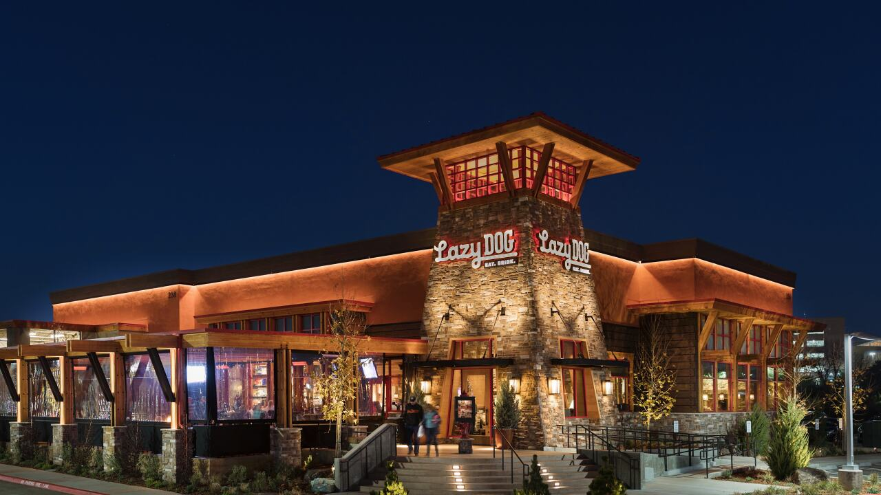 Lazy Dog Restaurant And Bar To Open In Colorado Springs