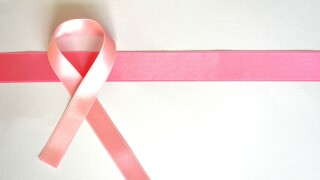 October Breast Cancer Awareness Month Pink Ribbon
