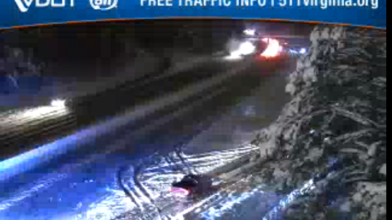 Downed tree, disabled semis close I-95 north at Route288
