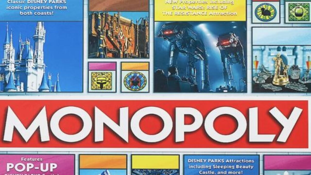 Newest Disney Parks Monopoly Game Includes A Pop-up Castle