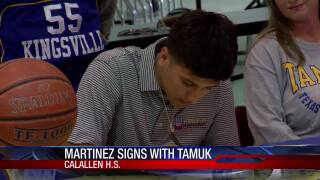 Ethan Martinez accepts Texas A&M-Kingsville hoops scholarship offer