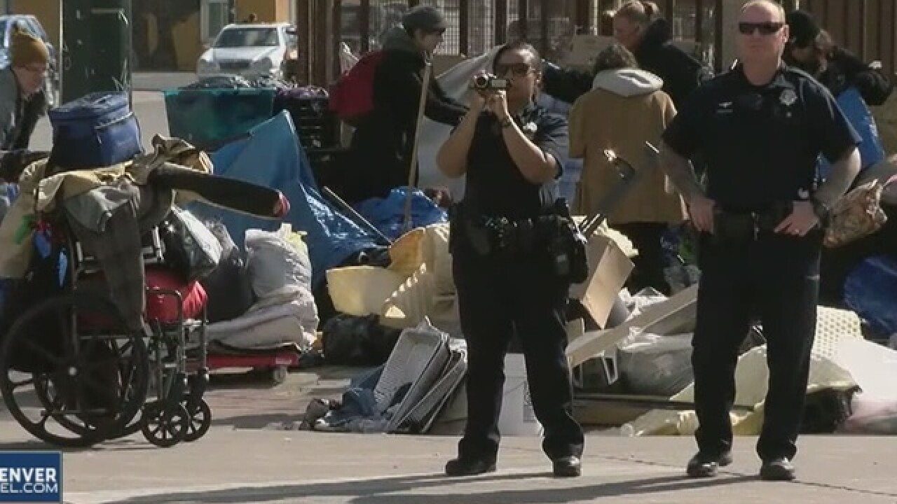 Lawsuit filed on behalf of Denver homeless