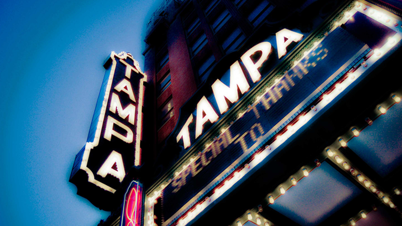 Tampa Theatre renovation project underway