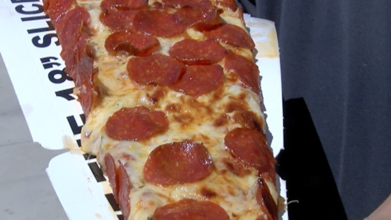 BODY-SIZED PIZZA! 18-inch at Camelback Ranch ST