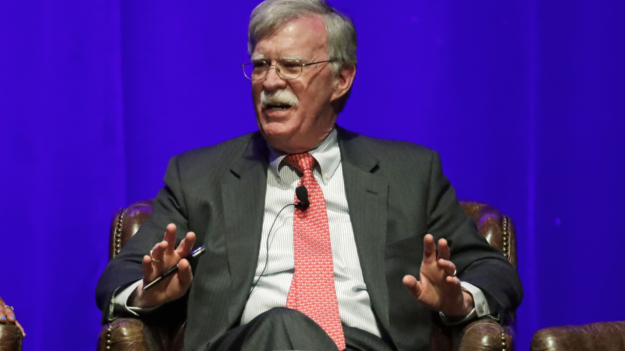 Trump administration sues to block release of Bolton book