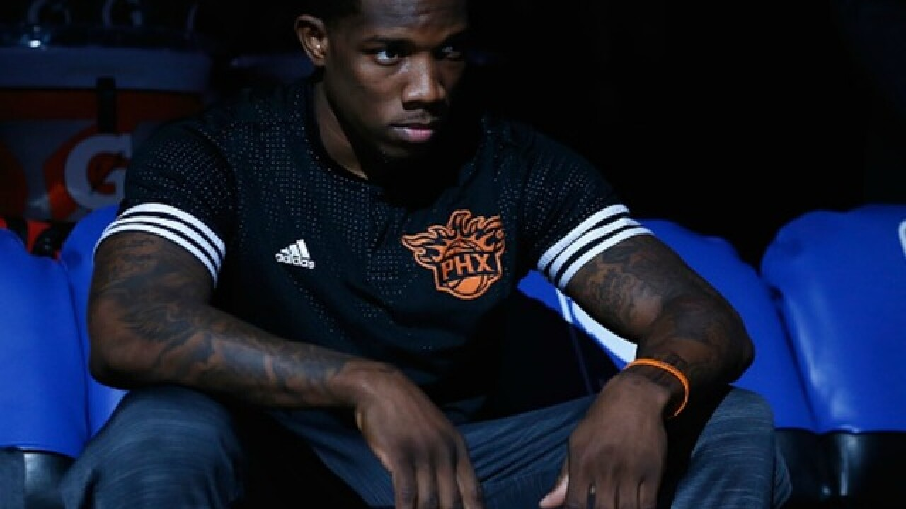 Eric Bledsoe appears upset about being sat for rest of season