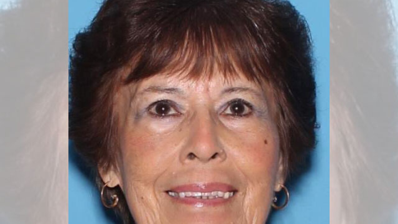 Police say 78-year-old Gloria Thornton was last seen near Wilmot and Stella at 11 a.m. Wednesday. Photo via TPD.
