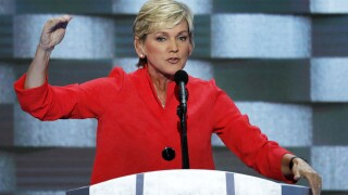 Former Michigan Governor Jennifer Granholm endorses Joe Biden