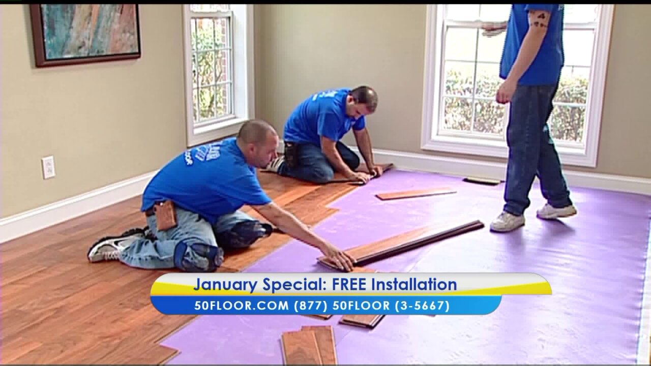Start the new year with new floors