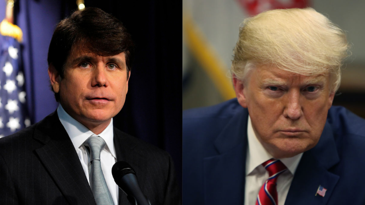 Trump expected to issue pardon to former Illinois Gov. Rod Blagojevich, reports say